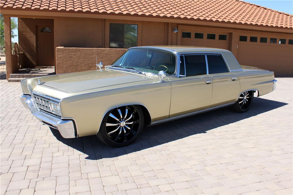 1966 CHRYSLER CROWN IMPERIAL CUSTOM 4 DOOR HARDTOP - Front 3/4 - 162000