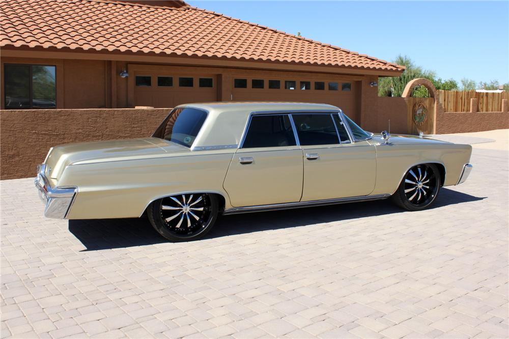 1966 CHRYSLER CROWN IMPERIAL CUSTOM 4 DOOR HARDTOP - Rear 3/4 - 162000