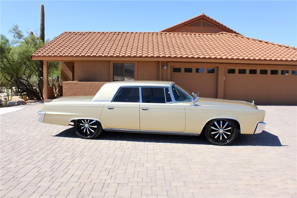 1966 CHRYSLER CROWN IMPERIAL CUSTOM 4 DOOR HARDTOP - Side Profile - 162000