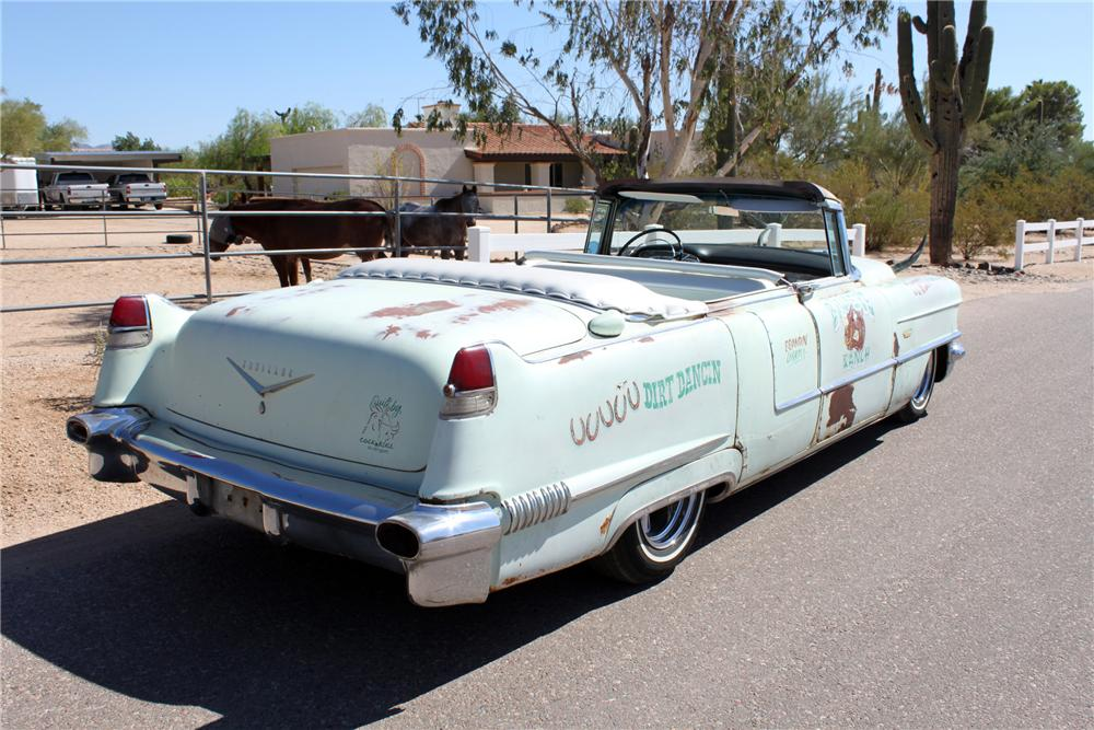1956 CADILLAC CUSTOM TOPLESS ROADSTER - Rear 3/4 - 162001