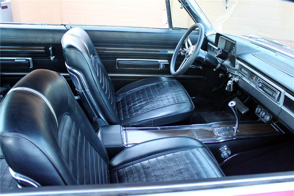 1966 PLYMOUTH SPORT FURY CUSTOM 2 DOOR HARDTOP - Interior - 162002
