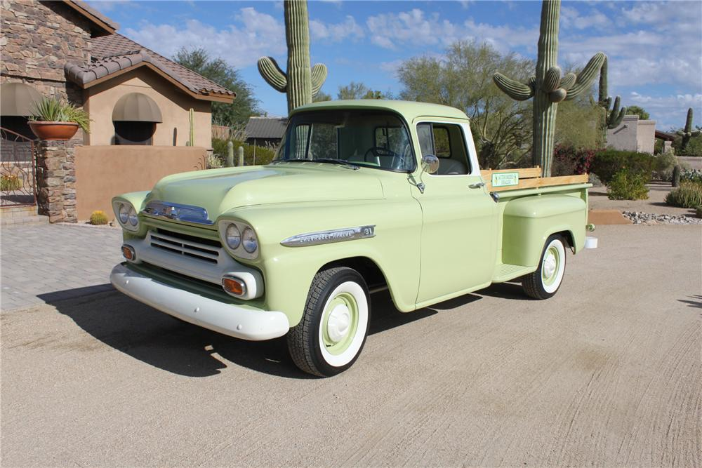 1957 CHEVROLET 3200 PICKUP - Front 3/4 - 162007