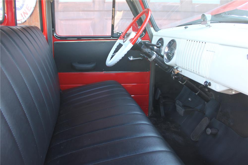 1954 CHEVROLET 3100 PICKUP - Interior - 162009