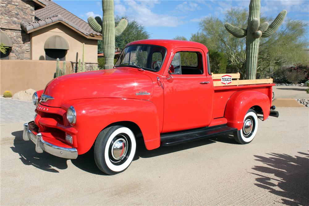 1954 CHEVROLET 3100 PICKUP - Side Profile - 162009