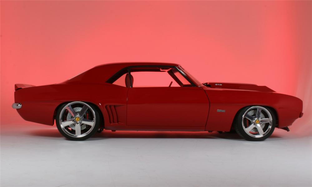 1969 CHEVROLET CAMARO SS COUPE BALDWIN MOTION - Side Profile - 16201