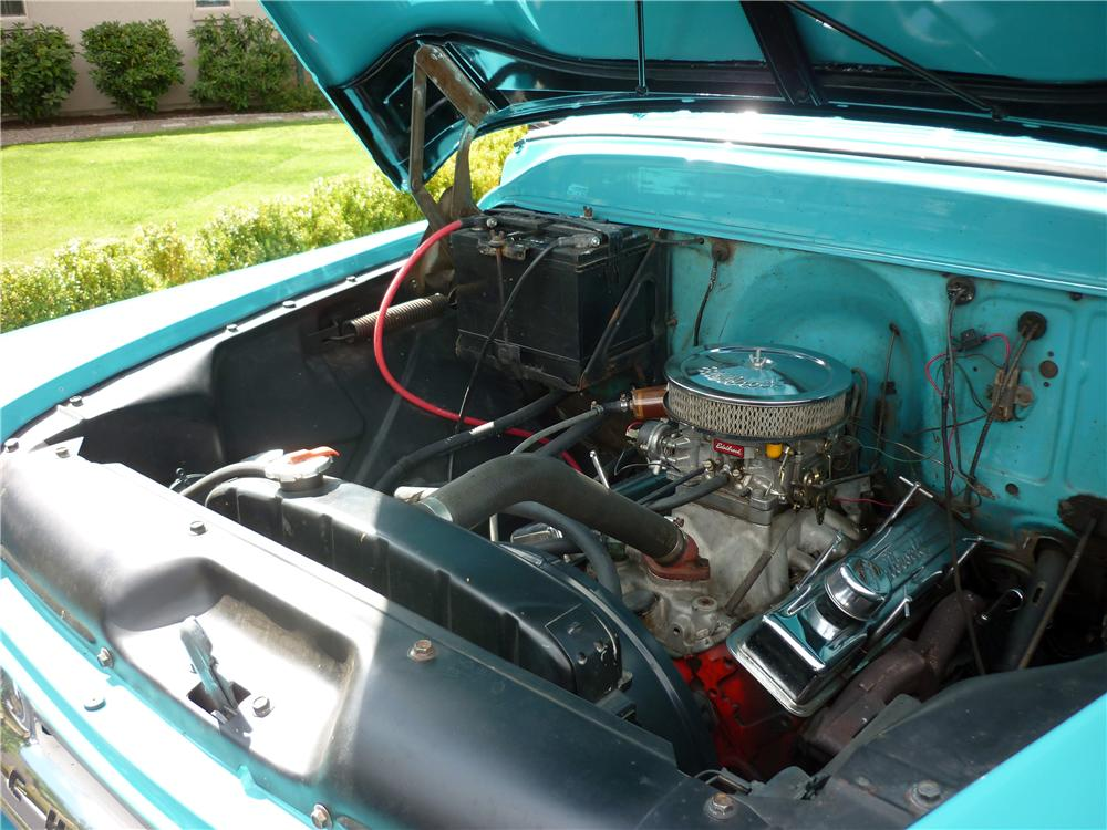 1958 CHEVROLET CAMEO CUSTOM PICKUP - Engine - 162010