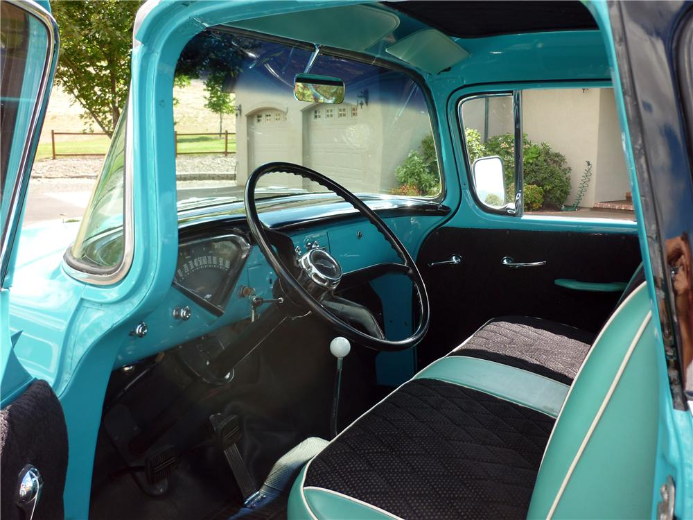 1958 CHEVROLET CAMEO CUSTOM PICKUP - Interior - 162010