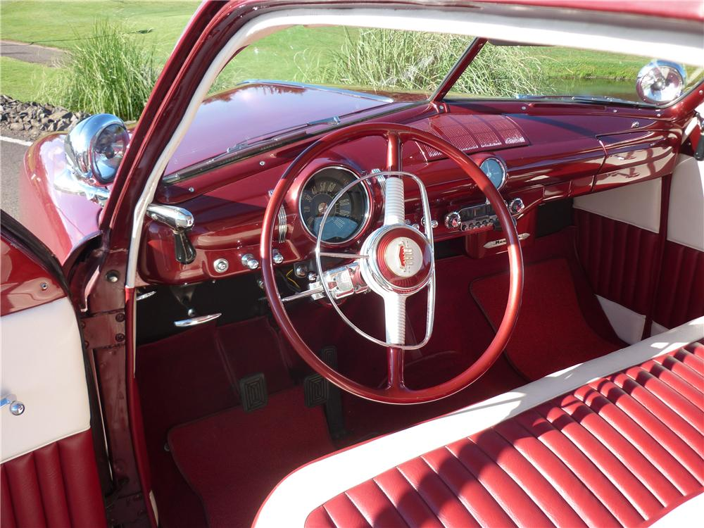 1949 FORD CLUB 2 DOOR COUPE - Interior - 162011