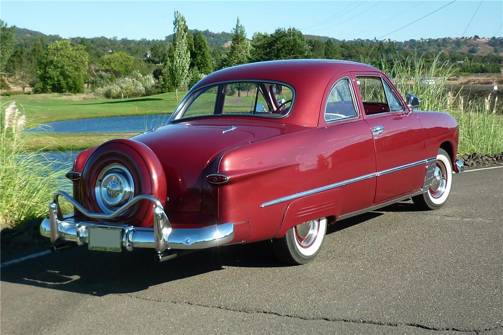 1949 FORD CLUB 2 DOOR COUPE - Rear 3/4 - 162011