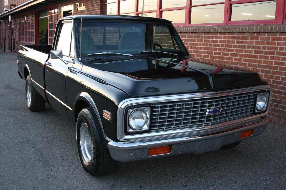 1972 CHEVROLET PICKUP - Front 3/4 - 162013