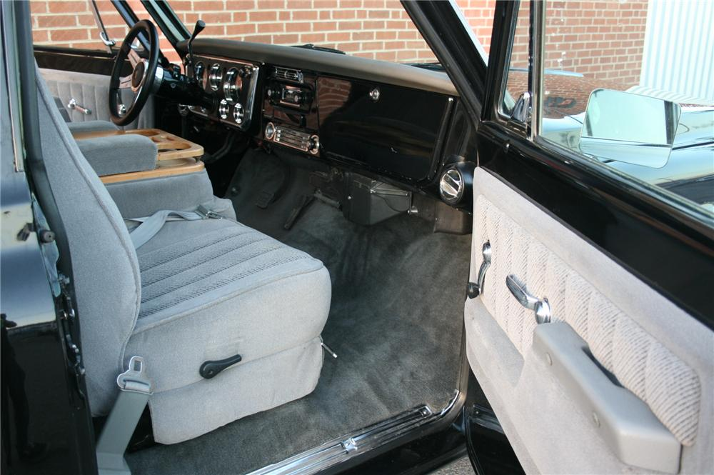 1972 CHEVROLET PICKUP - Interior - 162013