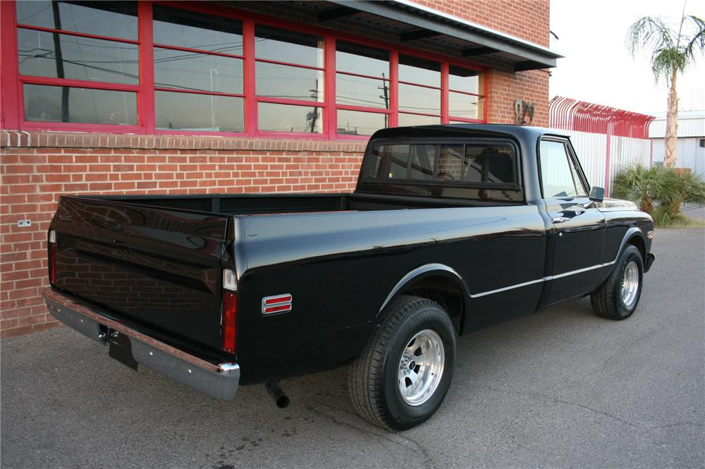 1972 CHEVROLET PICKUP - Rear 3/4 - 162013