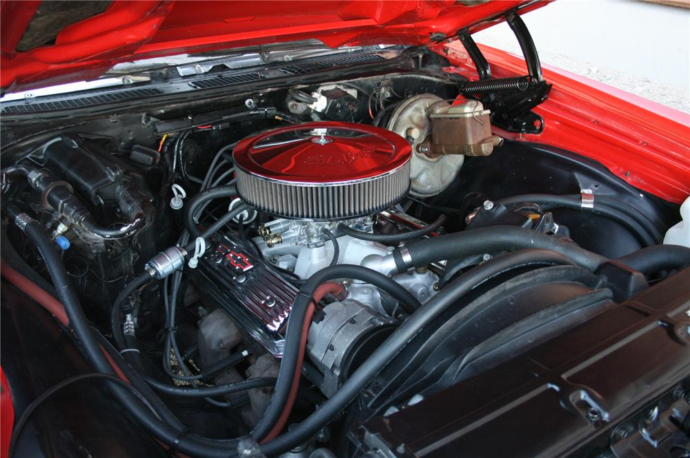 1972 CHEVROLET EL CAMINO CUSTOM PICKUP - Engine - 162014
