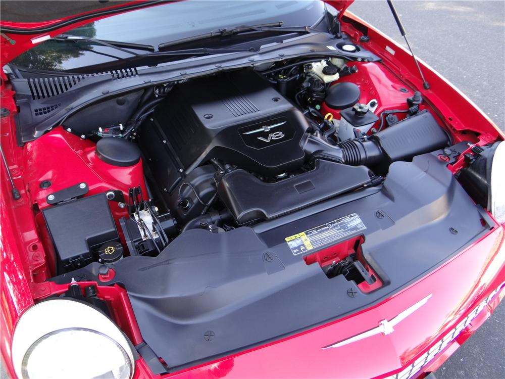 2005 FORD THUNDERBIRD CONVERTIBLE - Engine - 162024