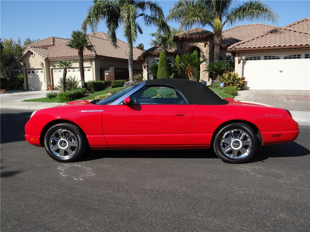 2005 FORD THUNDERBIRD CONVERTIBLE - Side Profile - 162024