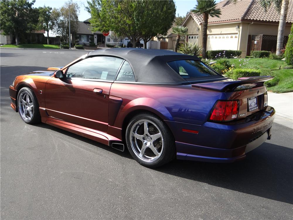 2002 Ford Mustang Gt Roush Custom Convertible 162025