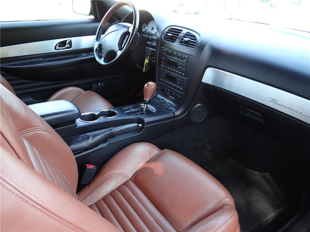 2003 FORD THUNDERBIRD CONVERTIBLE - Interior - 162027