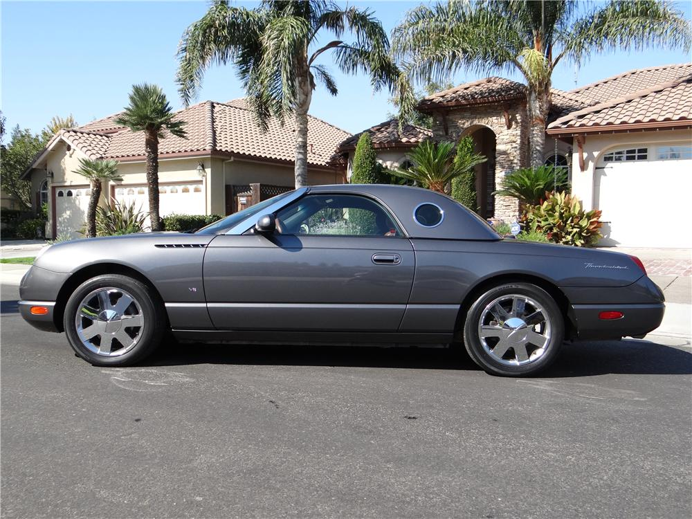 2003 FORD THUNDERBIRD CONVERTIBLE - Side Profile - 162027