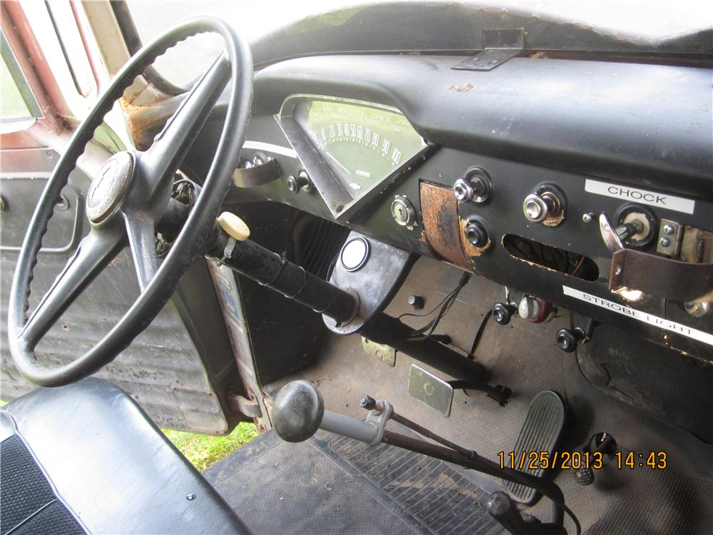 "1955 CHEVROLET CUSTOM FARM TRUCK ""TOW MATER"" - Interior - 162037"