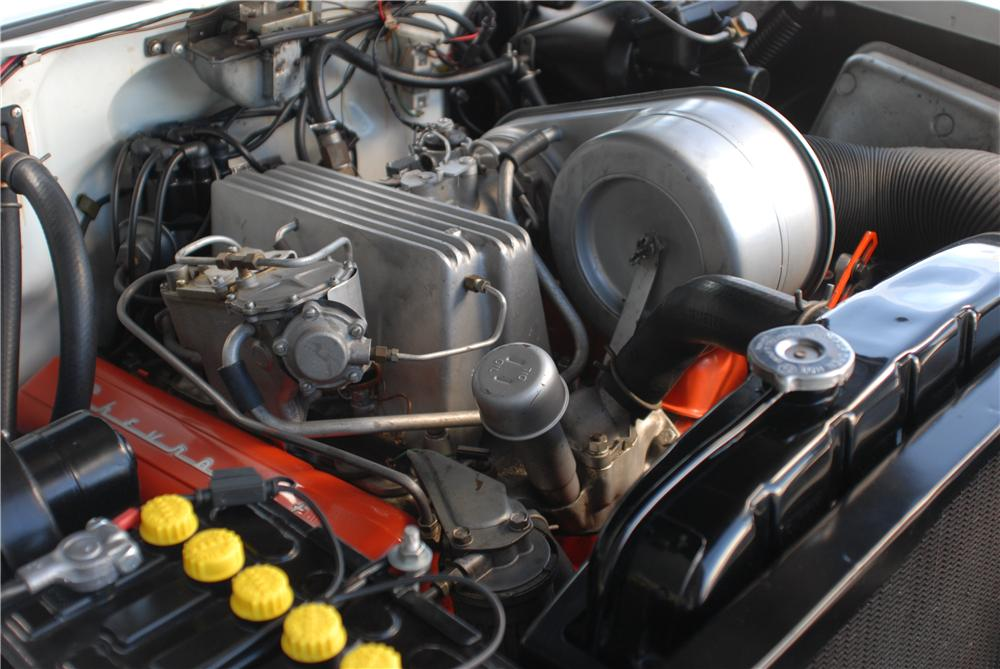 1957 CHEVROLET BEL AIR FI CONVERTIBLE - Engine - 162054