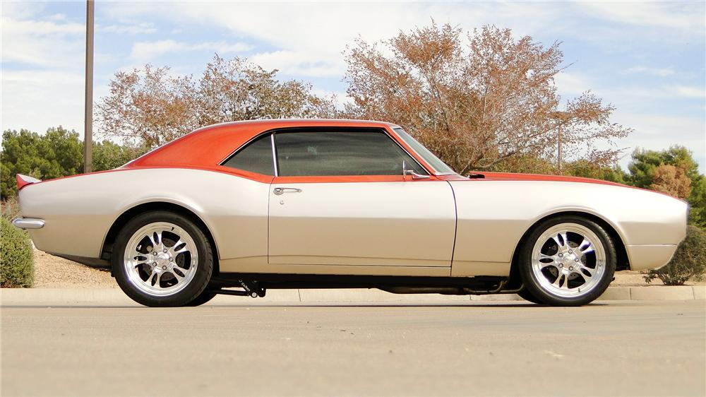 1968 CHEVROLET CAMARO SS CUSTOM 2 DOOR COUPE - Side Profile - 162069