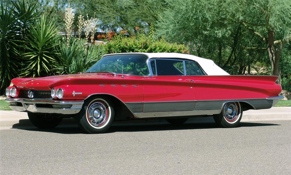 1960 BUICK ELECTRA 225 CONVERTIBLE - Side Profile - 16207