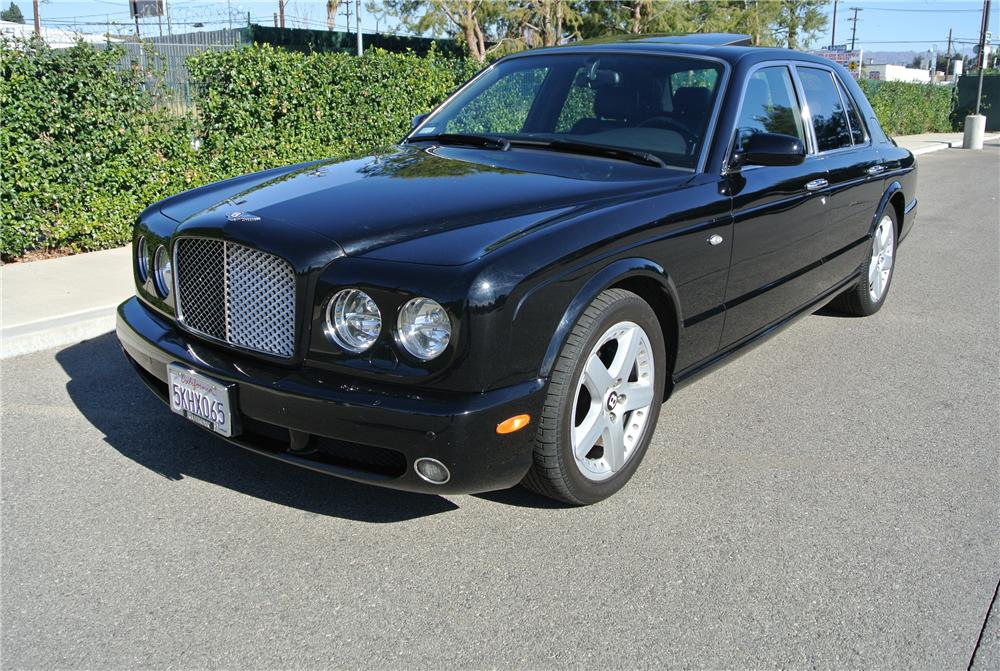 2005 BENTLEY ARNAGE T 4 DOOR SEDAN - Front 3/4 - 162071