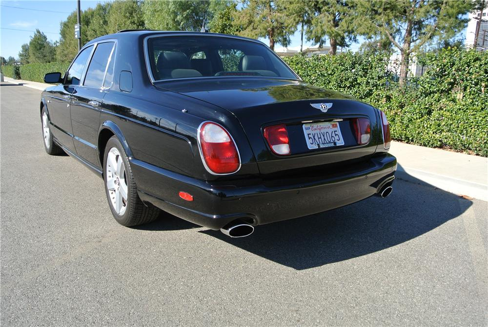 2005 BENTLEY ARNAGE T 4 DOOR SEDAN - Rear 3/4 - 162071
