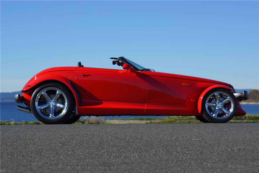 1999 PLYMOUTH PROWLER 2 DOOR ROADSTER - Side Profile - 162077