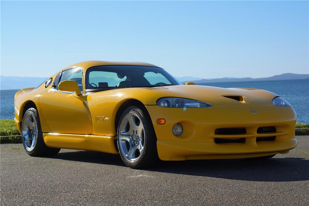 2002 Dodge Viper Gts 2 Door Coupe