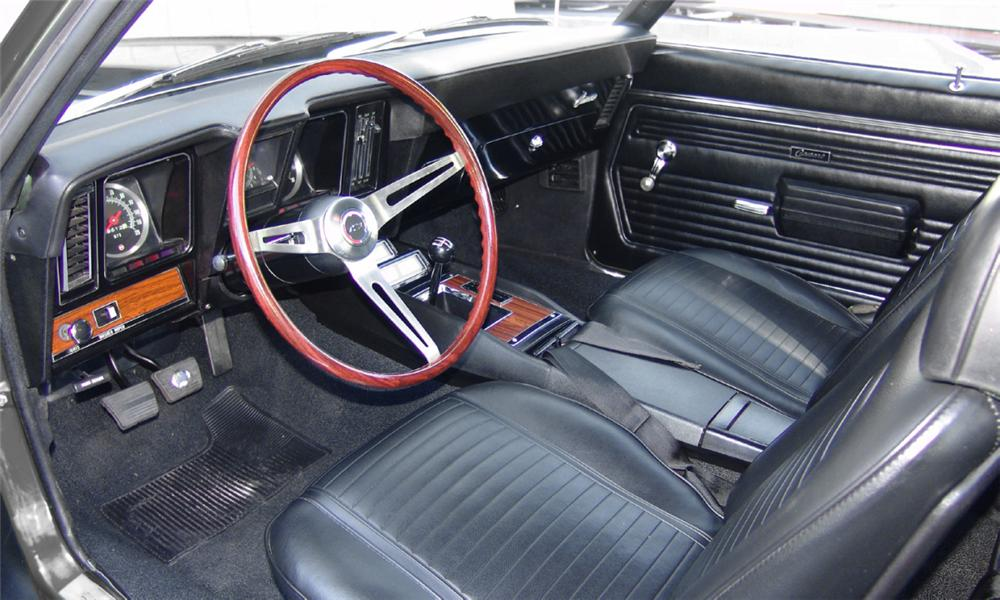 1970 PLYMOUTH CUDA 2 DOOR HARDTOP - Interior - 16208