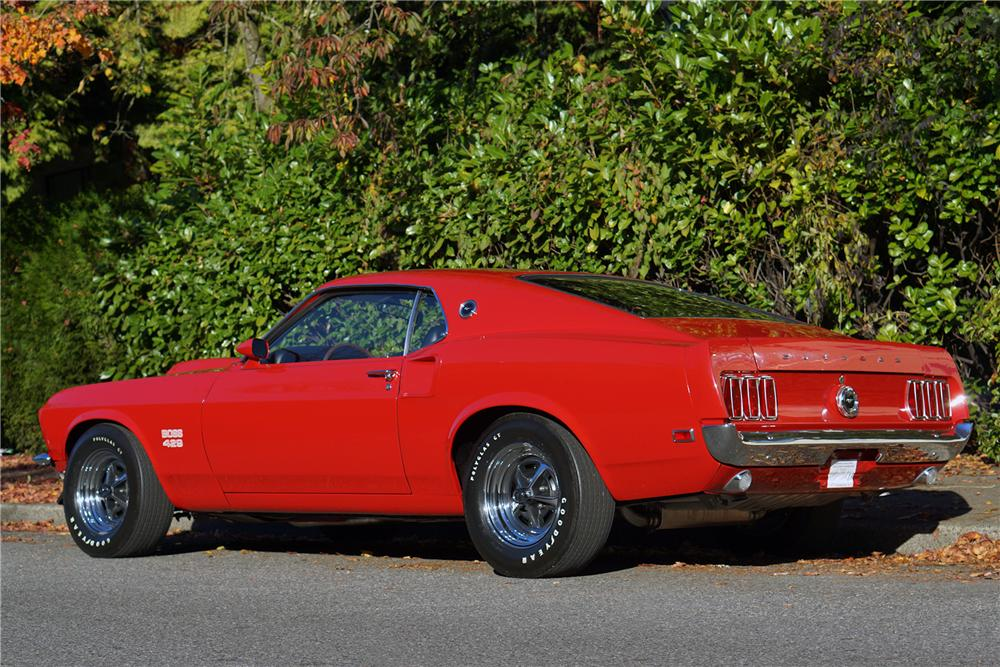 1969 FORD MUSTANG BOSS 429 FASTBACK - Rear 3/4 - 162080