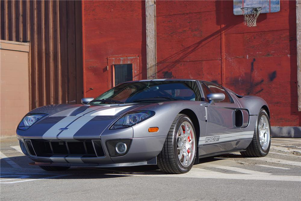 2006 FORD GT 2 DOOR COUPE - Front 3/4 - 162083