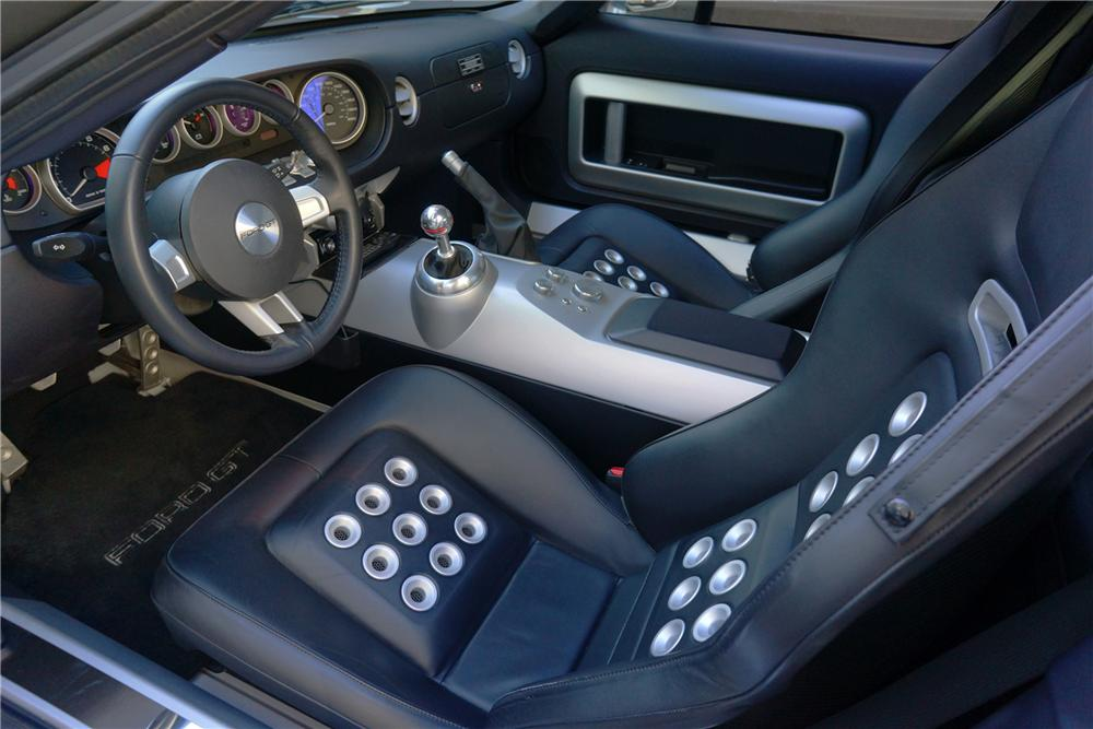 2006 FORD GT 2 DOOR COUPE - Interior - 162083