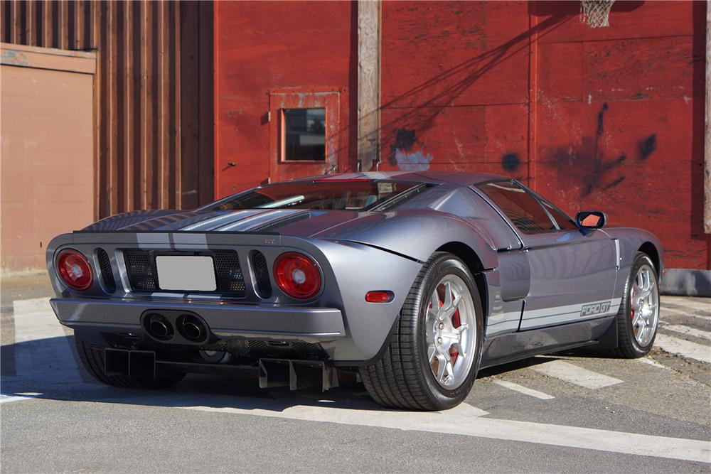 2006 FORD GT 2 DOOR COUPE - Rear 3/4 - 162083