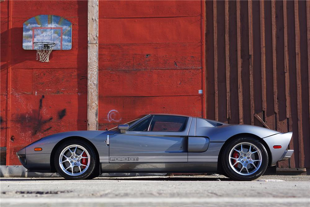 2006 FORD GT 2 DOOR COUPE - Side Profile - 162083