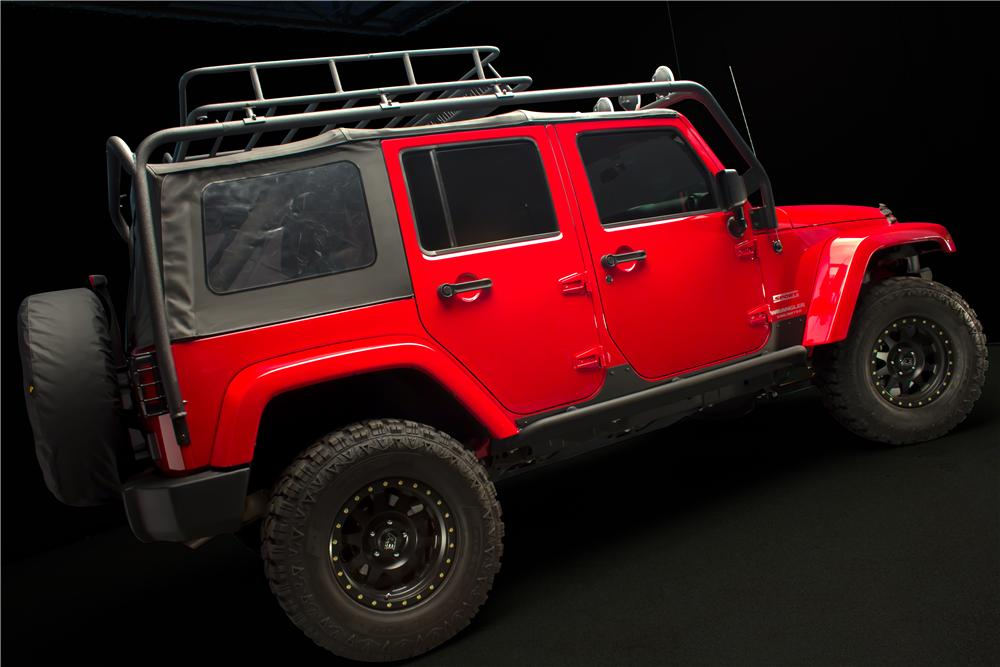 2012 JEEP WRANGLER UNLIMITED CUSTOM SUV - Front 3/4 - 162087