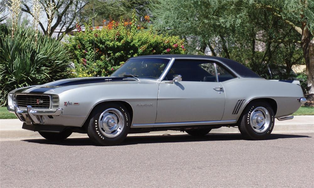 1969 Chevrolet Camaro Z 28 Rs 2 Door Hardtop 16209