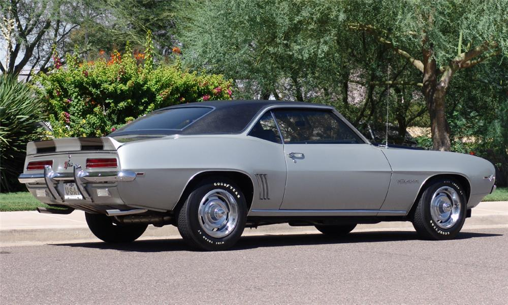 1969 CHEVROLET CAMARO Z/28 RS 2 DOOR HARDTOP - Rear 3/4 - 16209