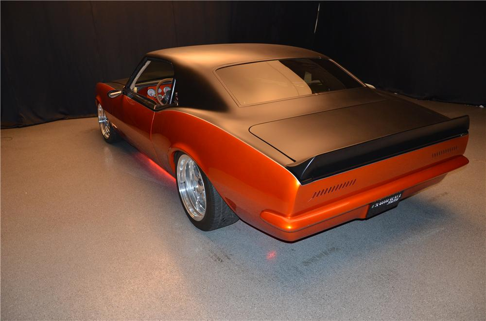 1968 CHEVROLET CAMARO CUSTOM 2 DOOR COUPE - Rear 3/4 - 162090