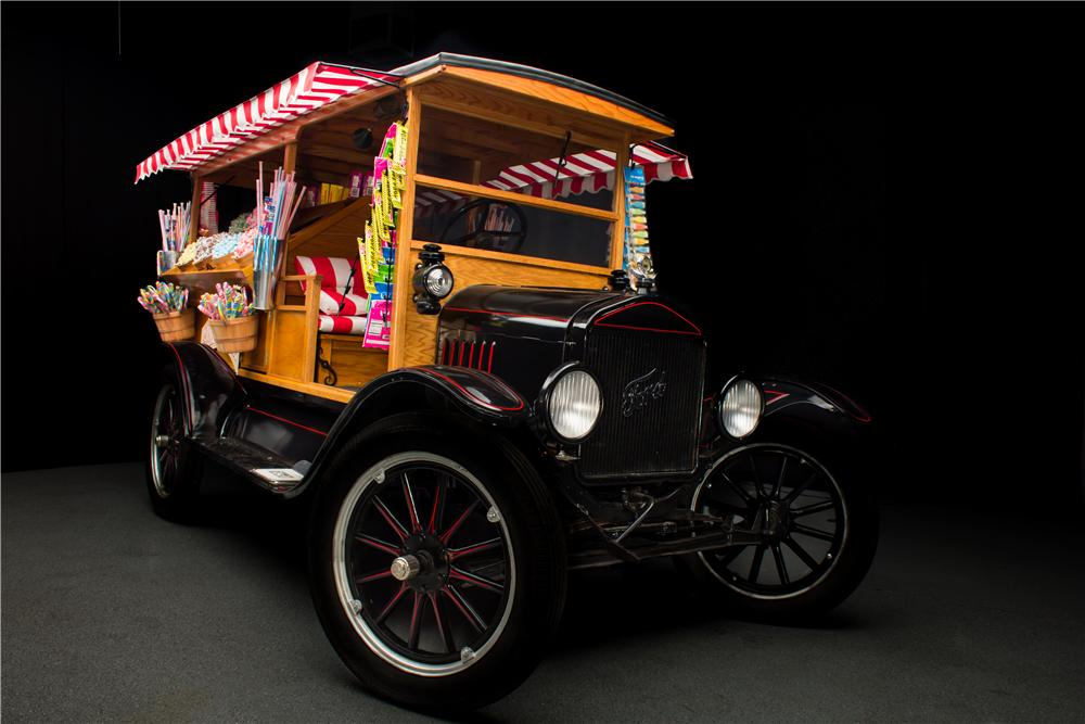 1925 FORD MODEL T CUSTOM CANDY TRUCK - Front 3/4 - 162093