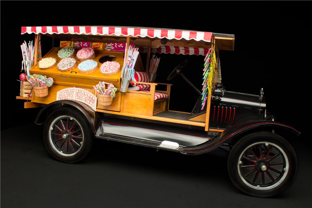 1925 FORD MODEL T CUSTOM CANDY TRUCK - Side Profile - 162093
