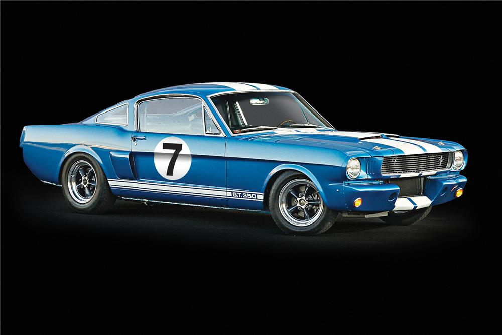 1966 SHELBY GT350 FASTBACK - Front 3/4 - 162098