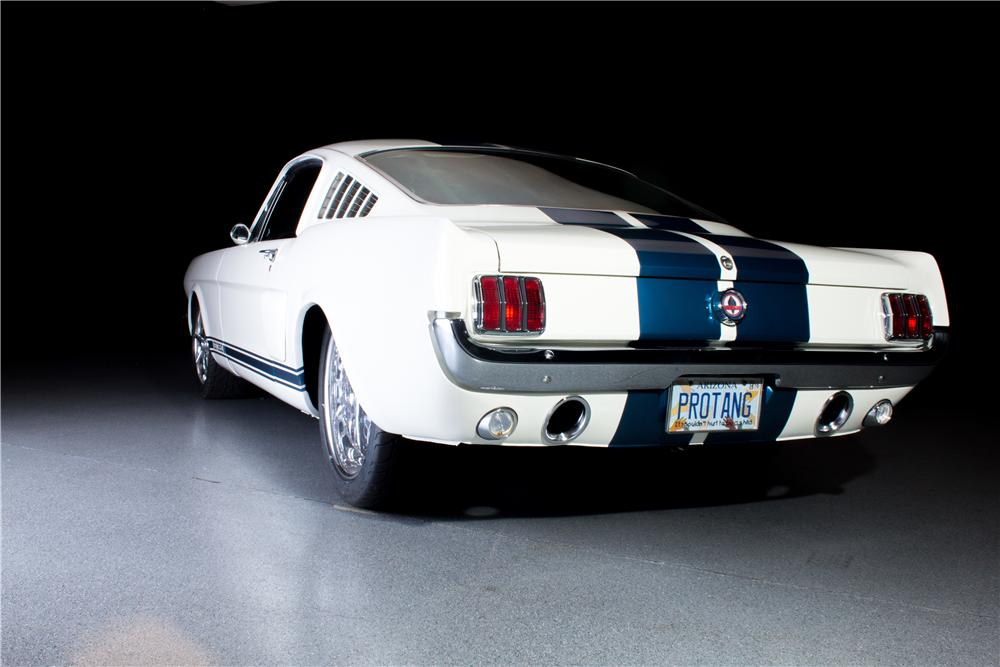1966 FORD MUSTANG CUSTOM FASTBACK SHELBY TRIBUTE - Rear 3/4 - 162099