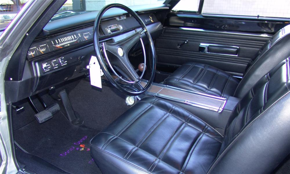 1969 PLYMOUTH HEMI ROAD RUNNER 2 DOOR HARDTOP - Interior - 16212