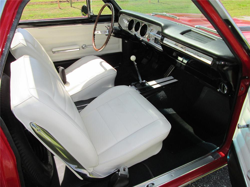 1965 CHEVROLET EL CAMINO PICKUP - Interior - 162146