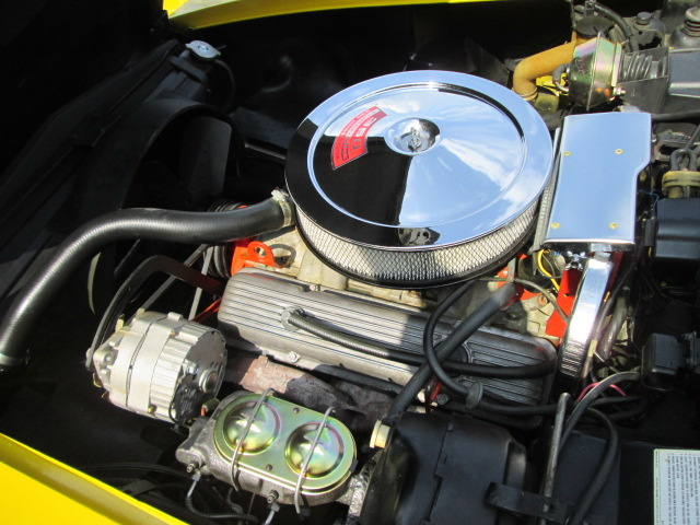1971 CHEVROLET CORVETTE 2 DOOR COUPE - Engine - 162147