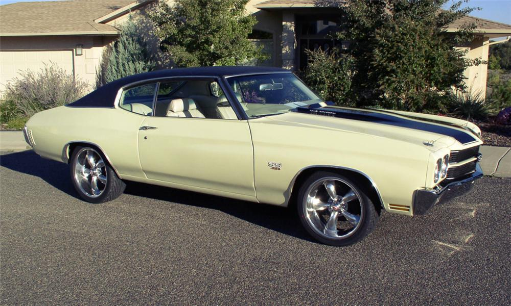 1970 CHEVROLET CHEVELLE SS CUSTOM COUPE - Front 3/4 - 16215