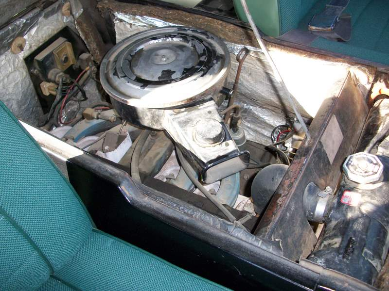1966 DODGE A100 VAN - Engine - 162158