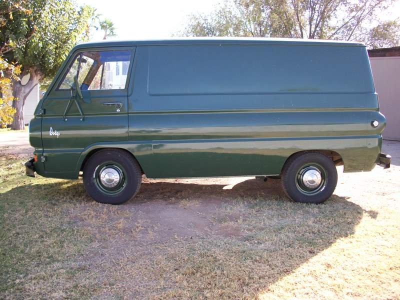 1966 DODGE A100 VAN - Side Profile - 162158